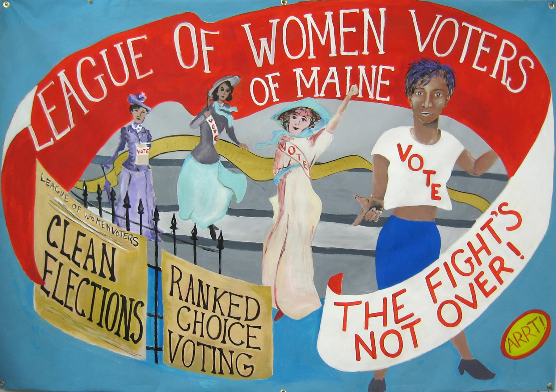 Wine and Whine Election Debrief by The League of Women Voters